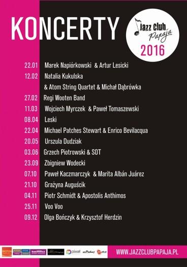 koncerty w Jazz Club Papaja